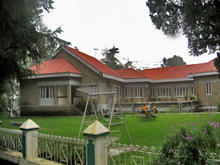 The Bhasu   HPTDC Exterior View 2, Dharamshala